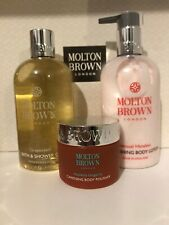 Molton Brown Grapeseed Body Wash & Sensual Hanaleni Lotion & Body Polisher Set