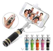 Selfie Stick barra telescópica vara Apple iPhone 3 4 4s 5 5s 5c 6 6s 6+ 6s plus se