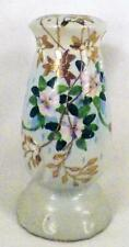 Hatpin Holder Hand Painted Nippon Vintage Reproduction Lavender Flowers
