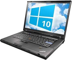 "UPGRADED Lenovo ThinkPad T500, 15"" WSXGA+, C2D @ 2.4GHz, 8gb RAM, NEW SSD"