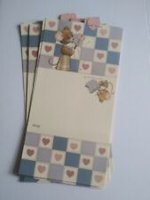 Lot 9 Vintage 1986 Ruth Morehead Mouse Sitting On Thimble Fold Over Notes Cards
