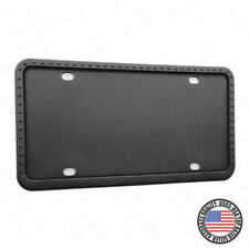 Universal Silicone License Plate Frame Sport Car SUV Truck Van Decoration Gift