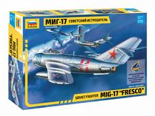 """Zvezda Model 7318 Soviet fighter Mig-17 """"Fresco"""", scale 1/72"""
