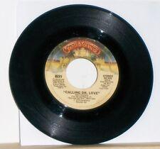 KISS - CALLING DR LOVE / TAKE ME - Original 1976 Casablanca 45 RPM Single Record