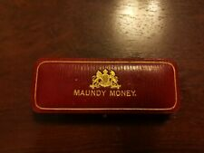 More details for maundy money edward vii coin set of 4 coins with case 1909, very good condition