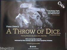 A THROW OF DICE ORIGINAL 2007 BFI QUAD POSTER SEETA DEVI HIMANSU RAI F OSTEN