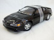 Sun Star 1:18 Black 2000 Chevrolet Montecarlo SS Coupe American Diecast Car Toy