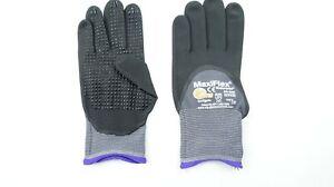 12 pack ATG 34-845/XXS Maxiflex Endurance Nylon Nitrile 3/4 Grip Gloves XXS