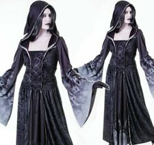 Forgotten Souls Ghost Demon Witch Horror Halloween Ladies Fancy Dress Costume