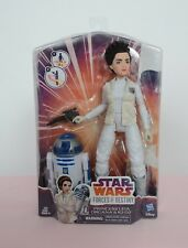 Star Wars Forces of Destiny Princess Leia Organa & R2 D2 Doll Hasbro Disney New