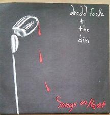 "Dredd Foole and The Dinn Songs In Heat 7"" 45 rpm Mission Of Burma Boston Rock"
