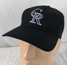 Vtg Colorado Rockies Snapback Trucker Hat Cap Twins Enterprises NOS