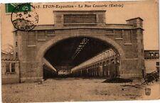 CPA Lyon-Exposition-La Rue Couverte (236105)