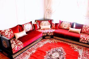 Handmade Moroccan sofa Salon Majlis set - New -