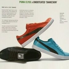 Flyer PUMA CLYDE Snakeskin special shoes