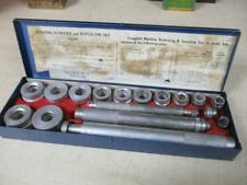 VINTAGE DAYTON~BUSHING REMOVER AND REPLACING SET~COMPLETE HAND TOOLS~METAL BOX