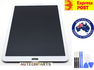 """SAMSUNG GALAXY TAB A 10.1"""" SM-T580 T585 LCD DISPLAY+TOUCH SCREEN DIGITIZER WHITE"""