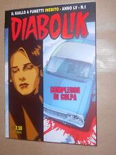 Diabolik-Inedito-Anno LV n. 1,Il complesso di colpa