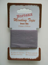 Nortexx Iron on Mending Tape Fabric Repair 1 M X 35 Mm - Choice of Colours Navy