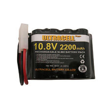 1 x 9*AA Cell Battery 2200mAh 10.8V NI-MH Rechargeable Battery Pack UltraCell