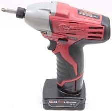 Milwaukee 2450-20 M12 Lithium Ion Impact Driver w/ 1 Battery - Used
