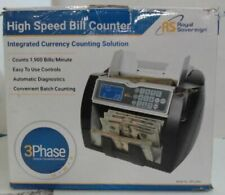 NEW OPEN BOX Royal Sovereign High Variable Speed Money Counting Machine $400.21