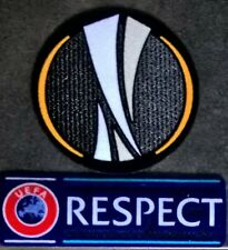 Patchs Europe maillots foot UEFA Europa league + Respect 12-18 OM Lyon Marseille