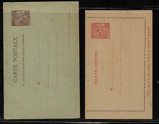 Monaco  postal letter and post card unused           MS0214