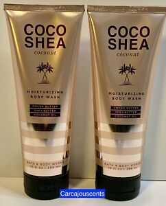 Bath & Body Works COCO SHEA Coconut Moisturizing Body Wash set of 2
