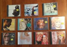 Lot 11 Cds from the 90s pop rock Sade Madonna Celine Dion & other Various Styles