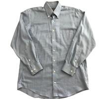Kirkland Signature Traditional Fit Non Iron Button Down Shirt Size 15 1/2-32/33M
