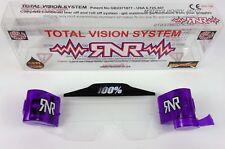 RIP N ROLL TV Visione Totale Sistema per 100% ACCURI/Strata OCCHIALONI MX Viola