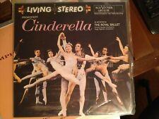 PROKOFIEFF: Cinderella Royal Ballet CLASSIC RECORDS Audiophile LSC-2135 LP