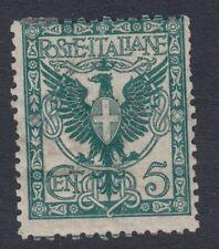 ITALY :1901 5c deep bluish green SG  64 mint,mostly og