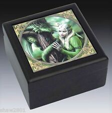 Kindred Spirit/ Fairy Tile Top Trinket Box, Collectible (New)