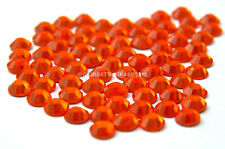 STRASS MC Stone collection 1440pz SS20 5mm ARANCIONE hotfix termoadesivi arancio