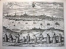 Antique map, Rostochium urbs Vandalica