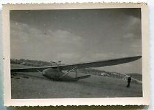 Photo d'un Planeur . avion . tirage original.