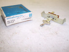 NOS Delco Heater Switch - 1964 Chev full size w/ AC - GM 3852905
