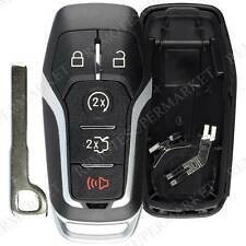 Shell Case For 2015 2016 2017 2018 Ford Explorer Keyless Entry Remote Key Fob