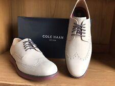 Cole Haan Original Grand Wingtip Shoe Beige Men Size 12 C27775