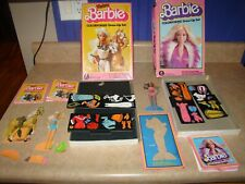Vintage Barbie Colorforms Western Dress Up Set 1982 Toys Dolls Lot