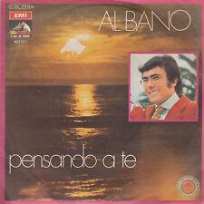 "AL BANO-PENSANDO A TE/SENSAZIONE-RARE ORIGINAL INDIAN PRESSING PS 45rpm 7"" 1969"