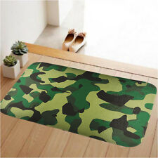 New Camouflage Doormat Floor Rug Carpet Room Door Mat Non-slip Bathmat