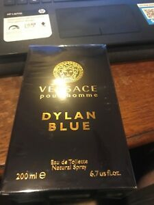 Versace Pour Homme Dylan Blue by Versace 6.7 oz EDT Cologne for Men New In Box
