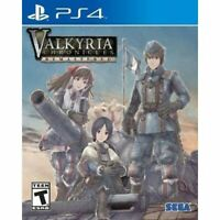 Valkyria Chronicles Remastered For PlayStation 4 PS4 RPG Very Good 3E