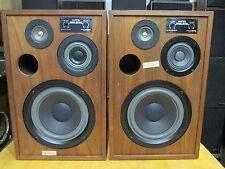 "Altec Lansing Model Seven 7 Vintage 12"" 3-Way Speakers Series I Nice!"