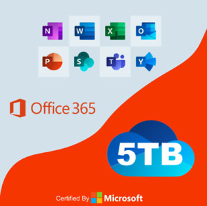.✅MS®OFFIC365 ✅ LIFETIME ACCESS ✅ 5 DEVICES WIN & MAC ✅ 5 TB STORAGE.