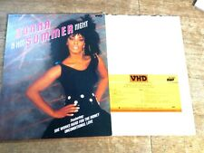 DONNA SUMMER A Hot Summer Night-Live JAPAN-ONLY VHD VHM68033 Free Shipping