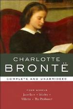 CHARLOTTE BRONTE ~ 4 NOVELS ~ COMPLETE & UNABRIDGED ~ JANE EYRE + 3 MORE ~ NEW